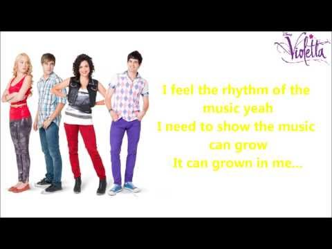 Violetta UK - Always Dancing - Instrumental/Karaoke with Lyrics