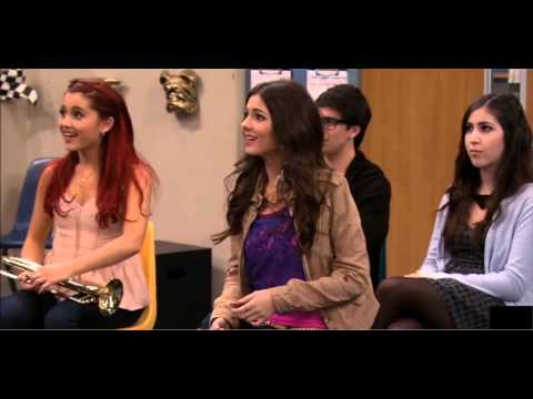 Drake bell on Victorious (april fools) HD