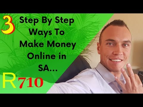 Making money online from home south africa