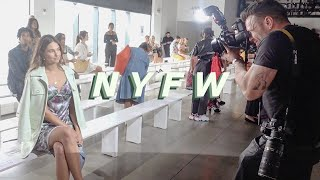 a week in my life at new york fashion week