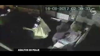 Cajeros de peaje ubicado en Buin realizan huelga debido a reiterados asaltos - CHV NOTICIAS