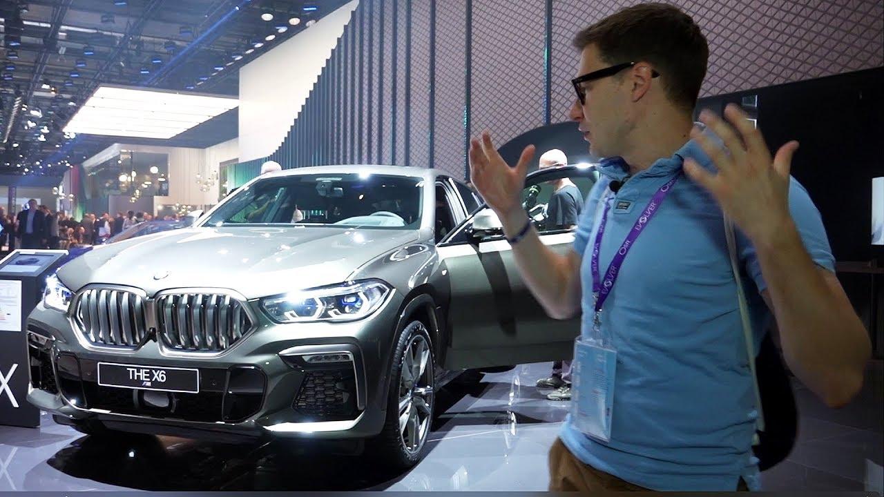 НОВЫЙ BMW X6, ОФИЦИАЛЬНО. Первый обзор БМВ Х6 (G06)