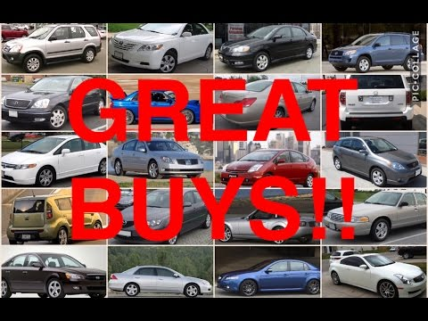 20 reliable used cars for under 10k youtube. Black Bedroom Furniture Sets. Home Design Ideas
