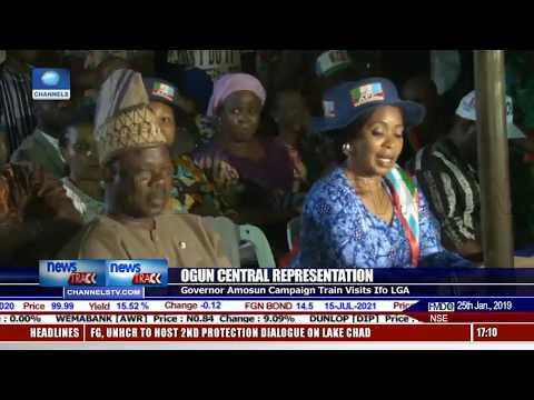 Amosun's Senatorial Campaign Train Hits Ifo LGA