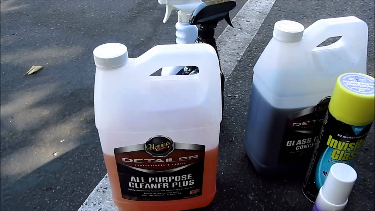 Car detailing interior car care products check description for links diycarmodz youtube