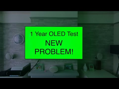LG OLED 1 year burn in test,the GOOD & the BAD! real world usage