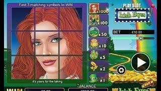 Grattage en ligne de jeux IRISH EYES 👀 👀 jeux à gratter en ligne.