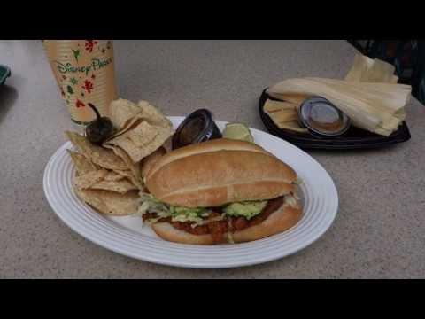 Disney Dining Review - Viva Navidad Torta and Sweet Tamales