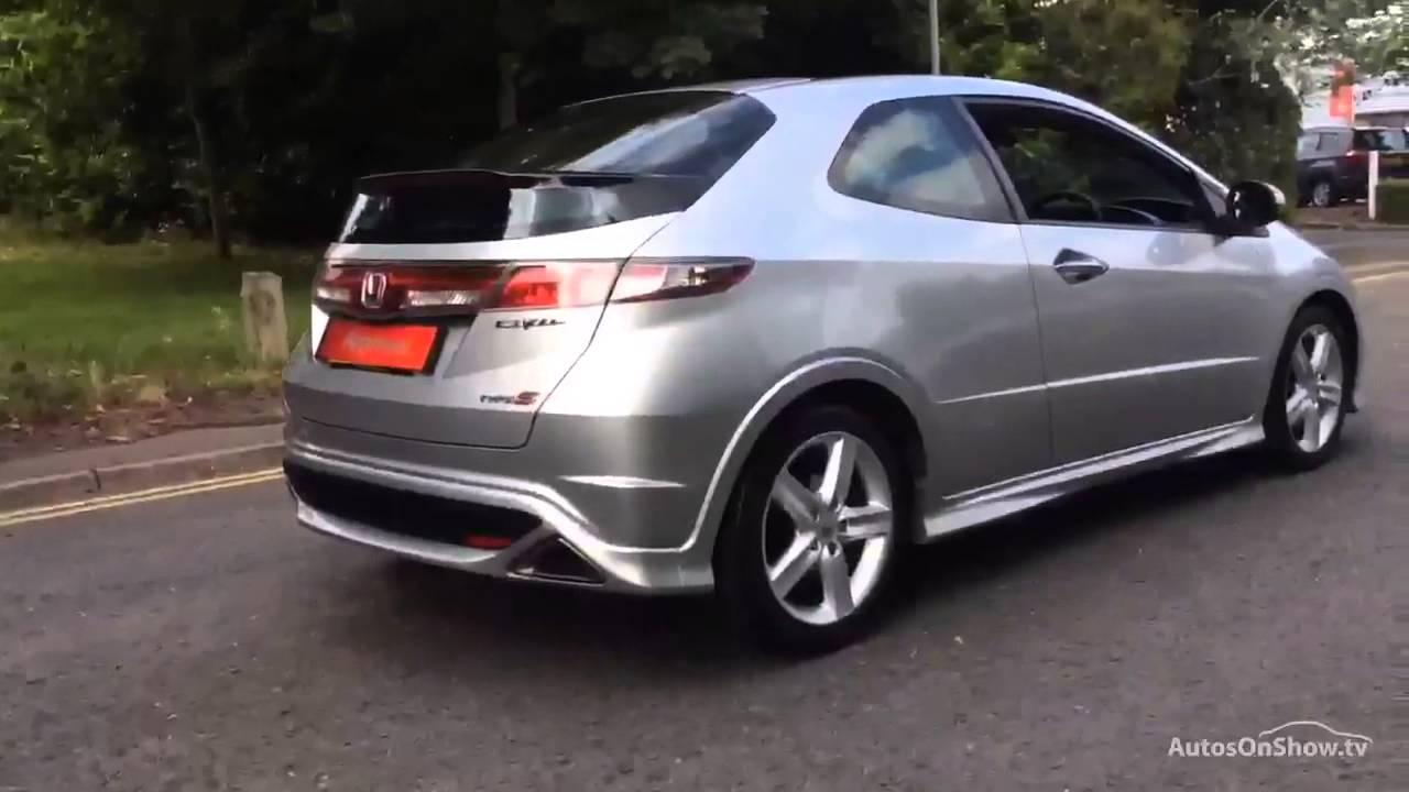 HONDA CIVIC I-VTEC TYPE S GT ALUMINIUM/SILVER 2010 - YouTube