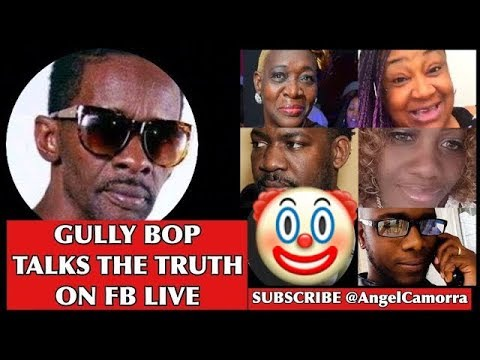GULLY BOP TALKS THE TRUTH ON FB LIVE - See Who Bop Cuss & New Manager