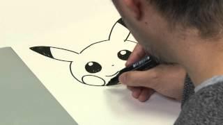 So malst du Pikachu: Ken Sugimori, künstlerischer Leiter des Pokémon Charakterdesigns, macht