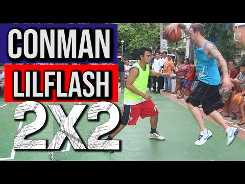 Conman & Lil Flash - 2 on 2 Streetball