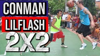 Conman & Lil Flash - 2 on 2 Streetball