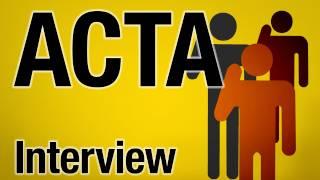 Anonymous - Was ist ACTA? - Interview mit Aktivist und Übersetzer Bruno Kramm
