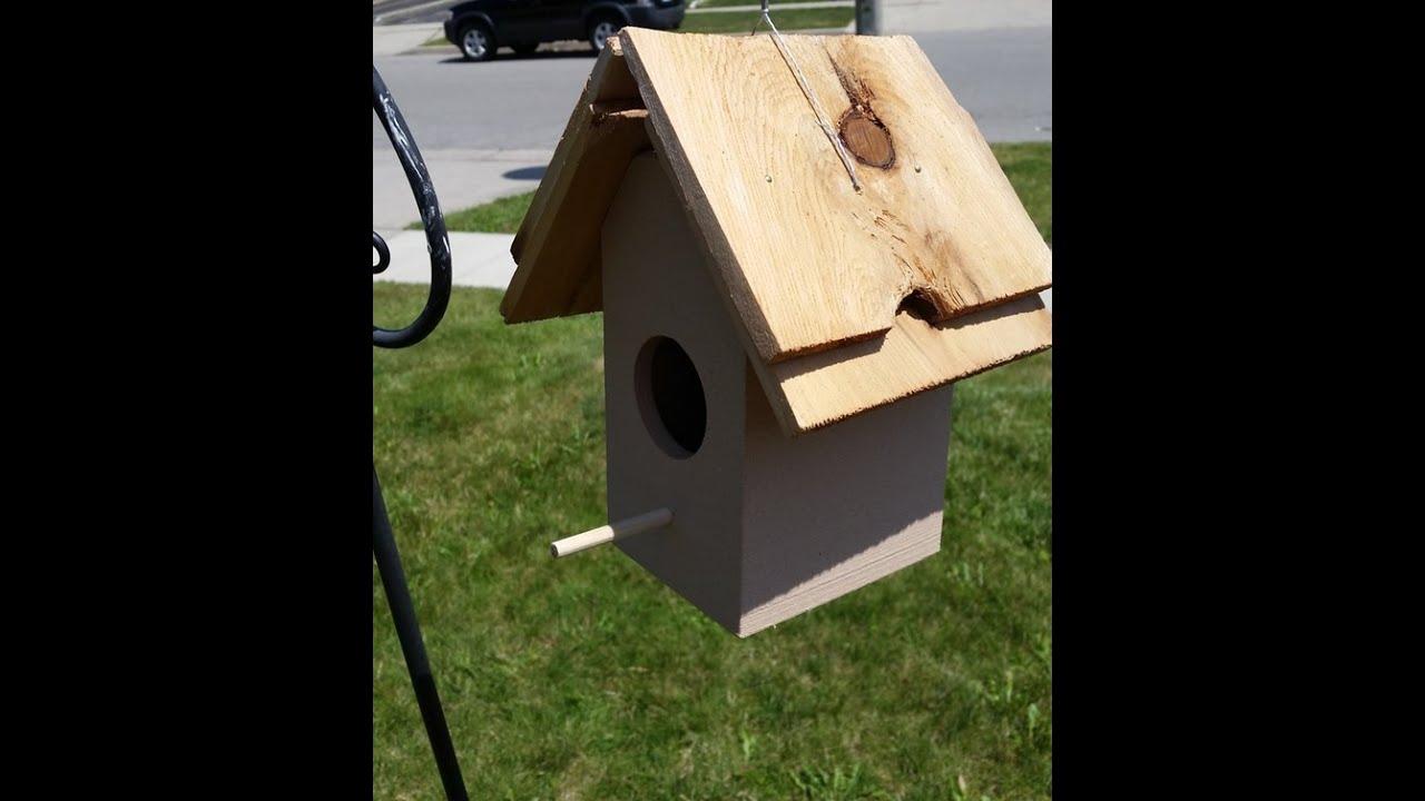 3D Printing A Wooden Bird House