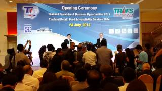 Thailand Franchise & Business Opportunities 2014 (TFBO2014)