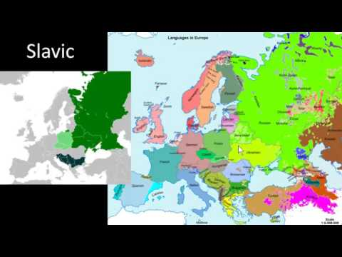 World Geography Online - Mostly Eastern Europe Languages/Ethnicity (Part 1 of 2)
