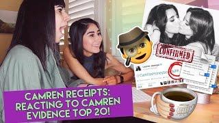 CAMREN RECEIPTS: Reacting to Camren Evidence Top 20! 🕵 #Proof (Fifth Harmony)
