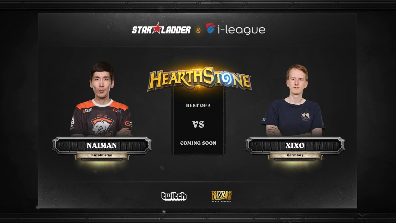 [EN] Naiman vs Xixo | SL i-League Hearthstone StarSeries Season 3 (26.05.2017)
