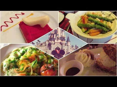 Vegetarian Food at Disneyland Paris! 2016