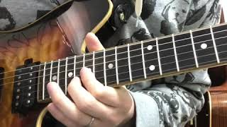 ライブでギターのサポートをさせて頂いているKissBeeWESTの『Just Sing!』のギターソロを弾いてみました。 楽しいです(笑) 使用機材 Sugi HSHタイプ...