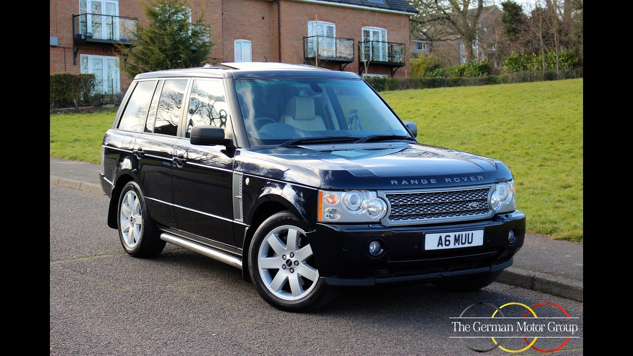 Range Rover 3.6 TDV8 Vogue SE (2006/56) - £13,950 - YouTube