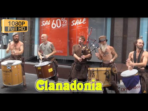 Clanadonia Scottish Drummers & Bagpipers Glasgow HD