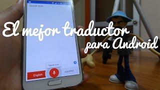 Traduce imagen y audio en tiempo real, El mejor traductor para Android