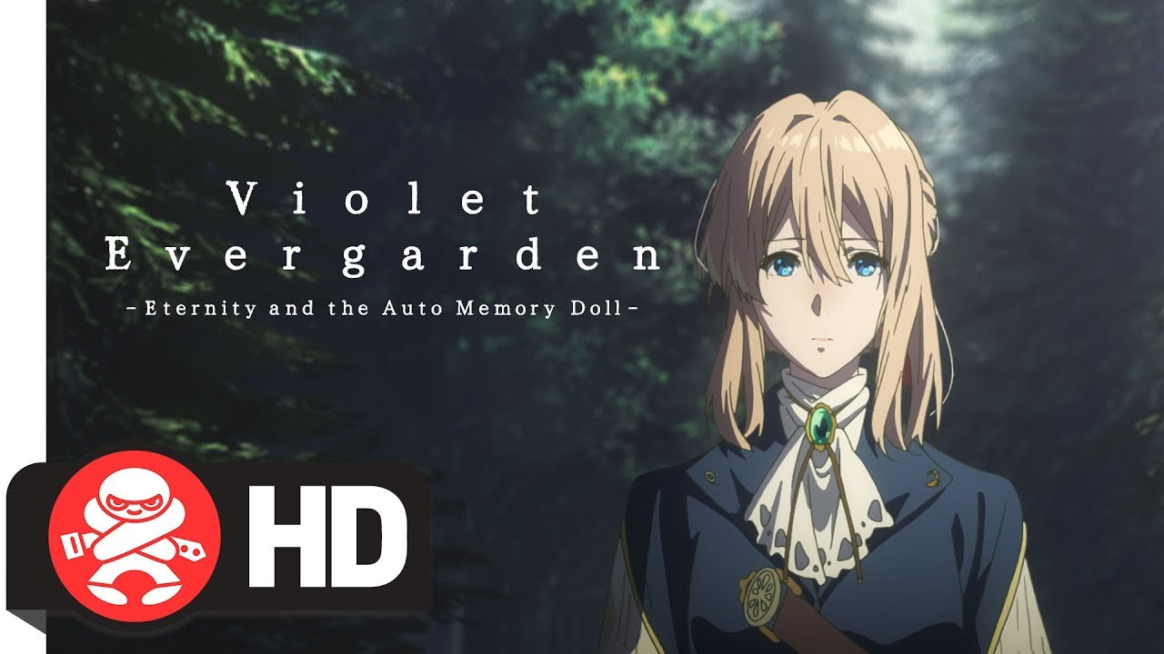 Violet Evergarden- Eternity and the Auto Memory Doll