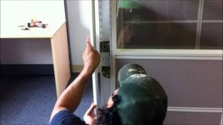 How To Install A Skutchi Designs Emerald Series Cubicle In Less Than 10 Minutes!
