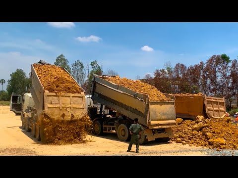Best Great Safety Operator Power Overload Heavy Truck Dirt Unloading