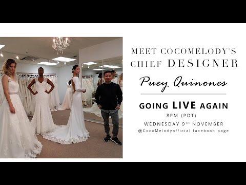 CocoMelody Chief Designer - Puey's 12th Facebook Live Show!