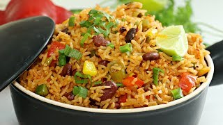 Mexican Rice Recipe | Easy One Pot Meal | How To Make Mexican Rice | Kanak's Kitchen