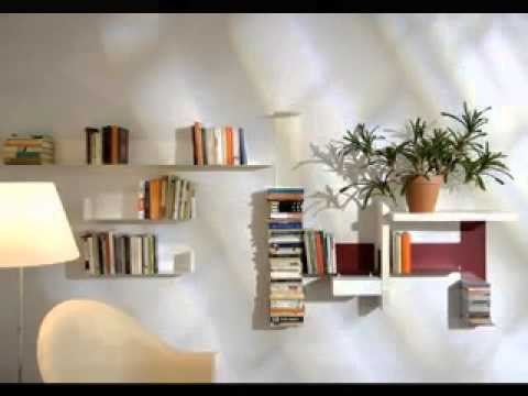 Wall Shelves Decor wall shelves decorating ideas - youtube