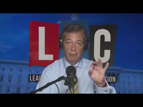 Nigel Farage Discusses Ruth Davidson's Immigration Comments