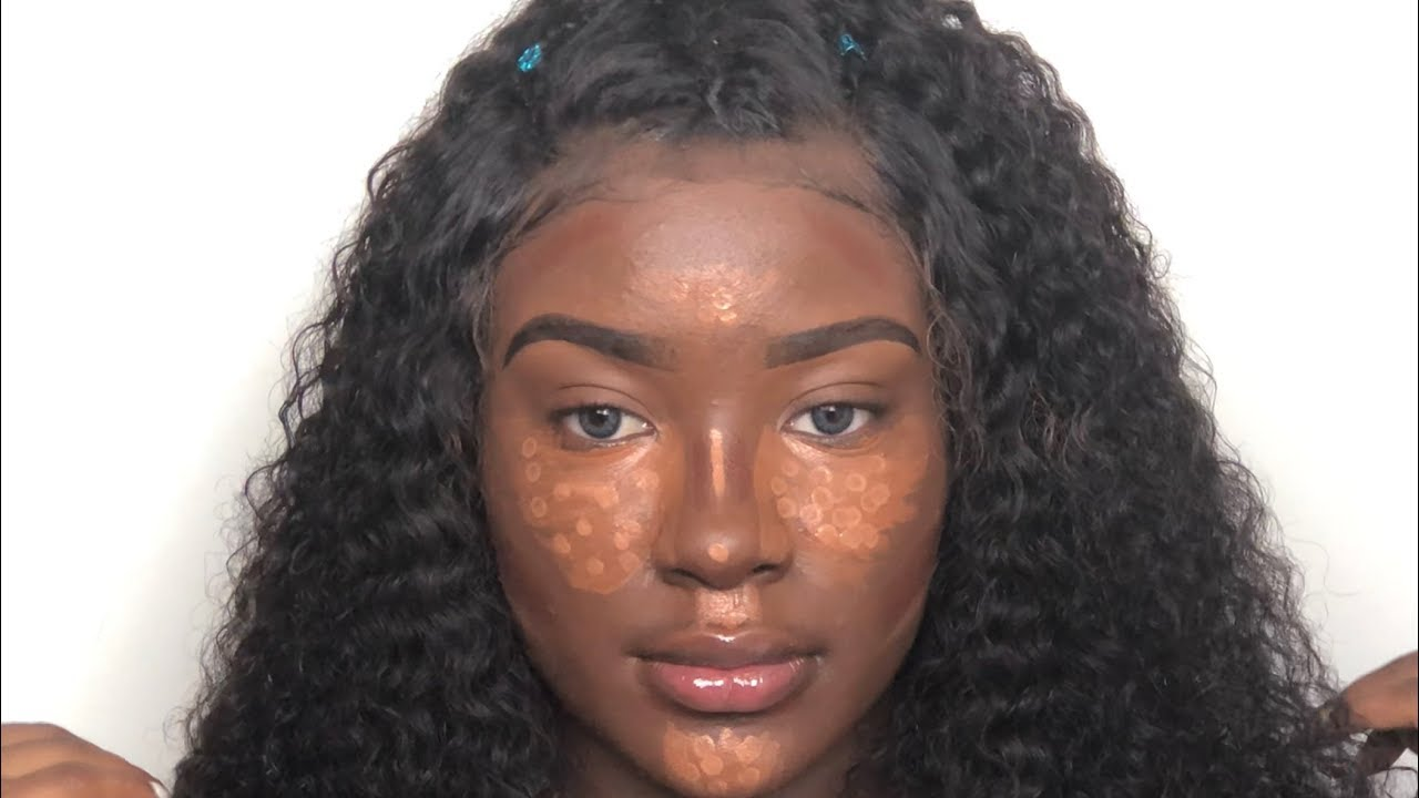 Flawless Highlight  Contour  Acne Coverage For Black -1937