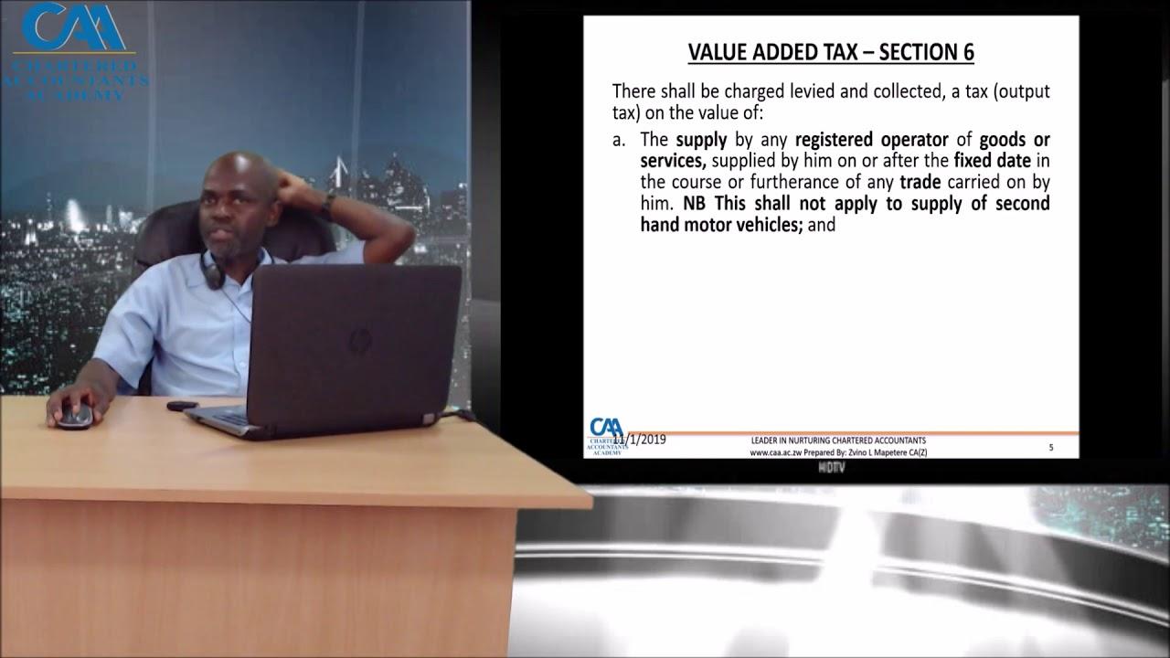 Download VAT Part 1a