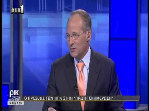 John Koenig on RIK discussing Cyprus' EEZ