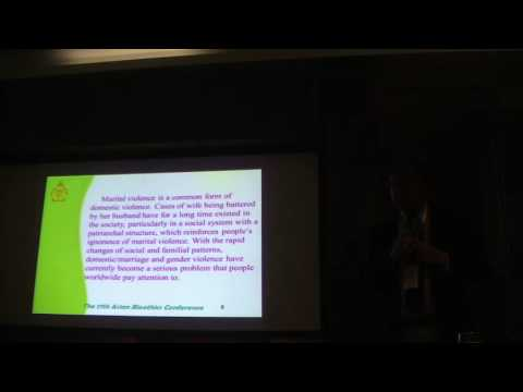 Feminism, bioethics and the Domestic Violence Prevention Act - Prof. Dr. Vincent Shieh, AUSN