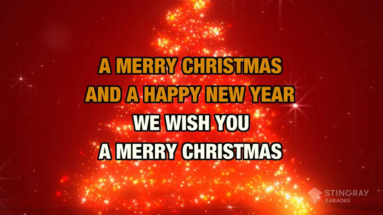 We Wish You a Merry Christmas (Karaoke) - YouTube