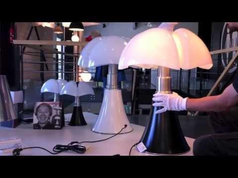 Pipistrello martinelli luce r glage en hauteur avec mouvement t lescopique - Imitation lampe pipistrello ...