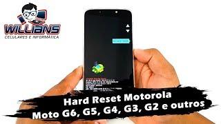 Hard Reset Motorola Moto G6, G5, G4, G3, G2, Formatar, Desbloquear