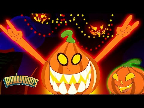 Five Little Pumpkins  Halloween Songs Collection Scary Nursery Rhymes For Kids  Howdytoons