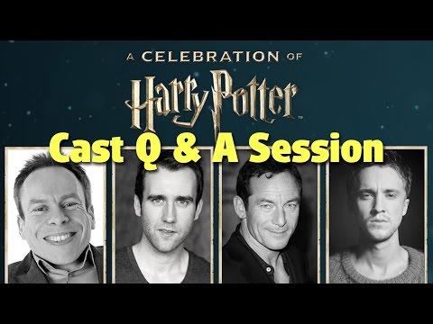 Harry Potter Cast Media Q&A Session | A Celebration of Harry Potter 2017