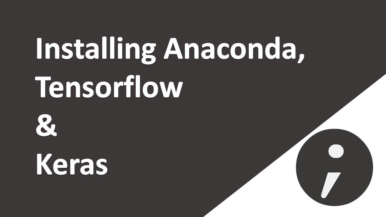 install keras tensorflow anaconda gpu