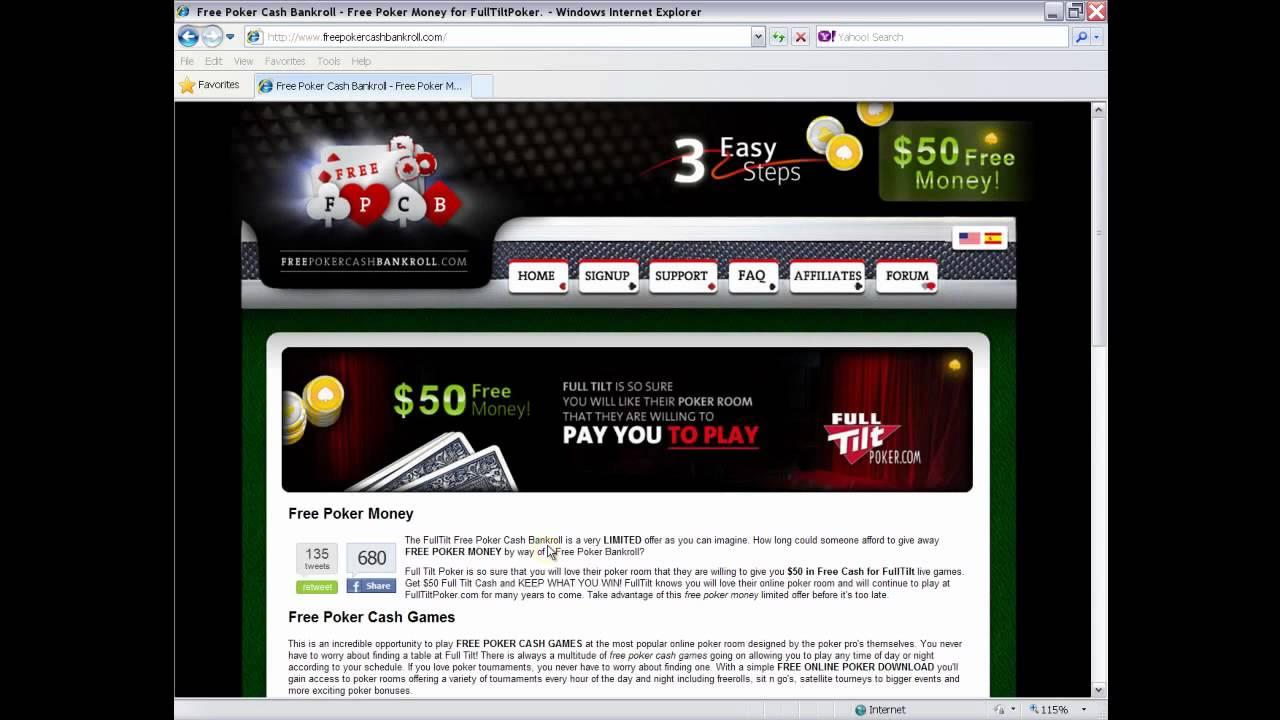 Full tilt free money no deposit gambling in mexico