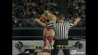 WWE Day of Reckoning 2 GameCube Gameplay - No Way Out