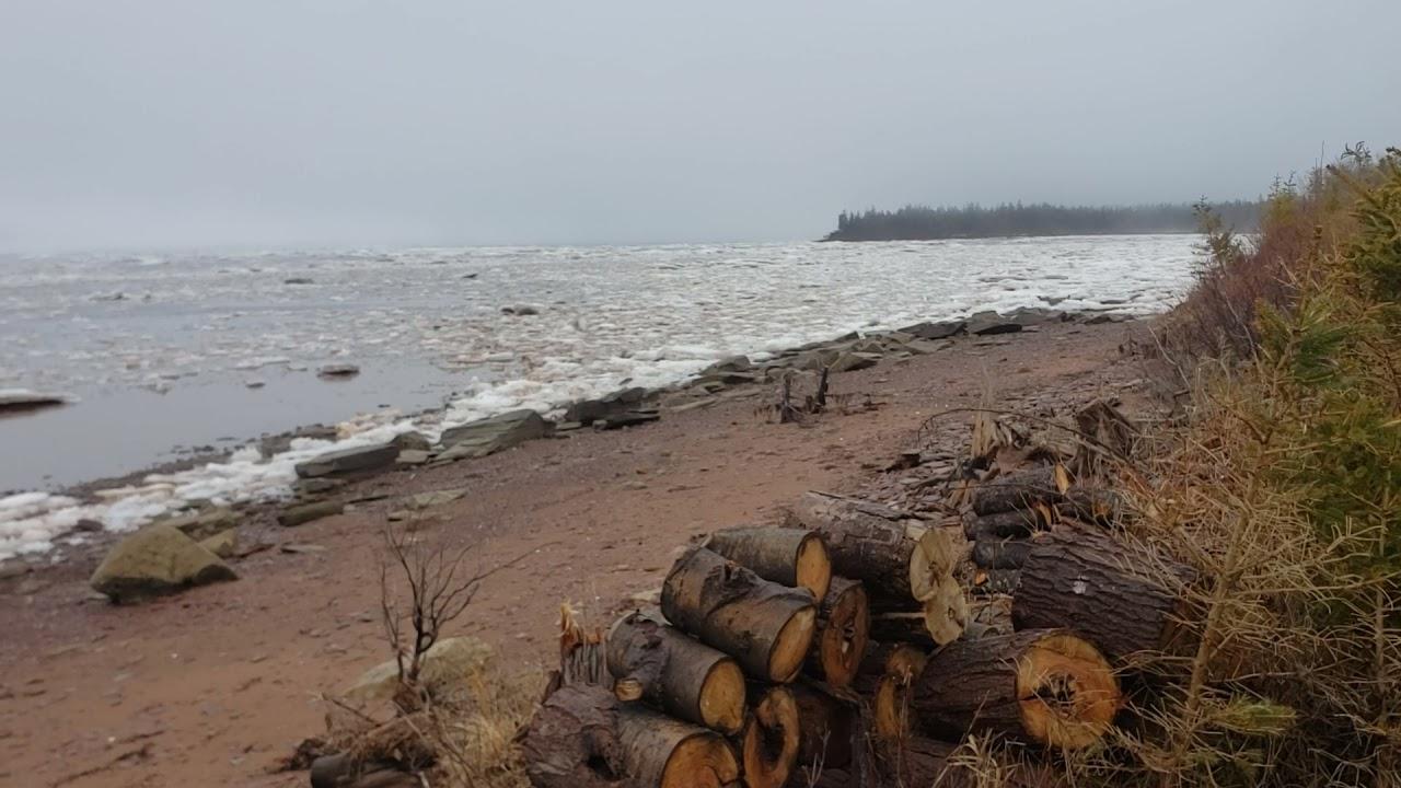 Sea ice in Baie Verte (Northumberland Strait)
