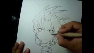 Desenhando Allen Walker - Drawing Allen Walker