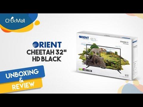 """Orient Cheetah 32"""" HD LED TV Unboxing l Clickmall"""